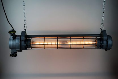 USSR industrial tube lamp