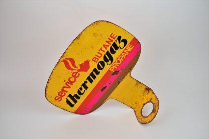 Thermogaz metal sign