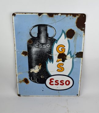 Esso gas porcelain sign