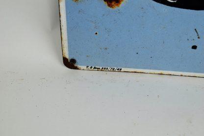 Esso gas porcelain sign