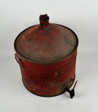 Texaco oil drum