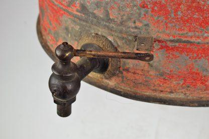 Texaco oil drum