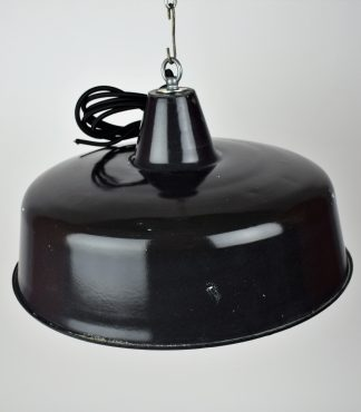 Enamel lamp black