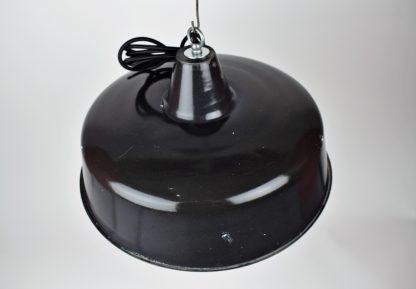 Enamel lamp black