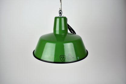 Enamel lamp green