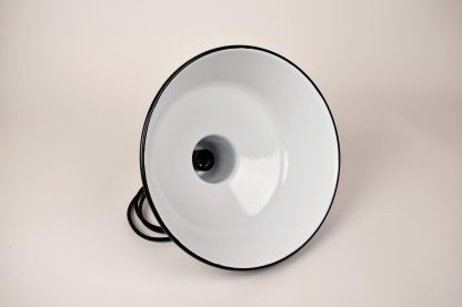 Enamel lamp grey