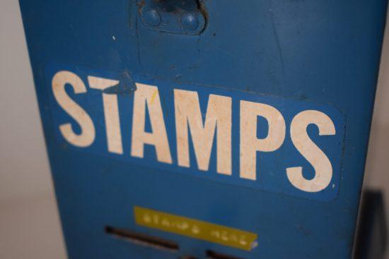 US stamp vending machine