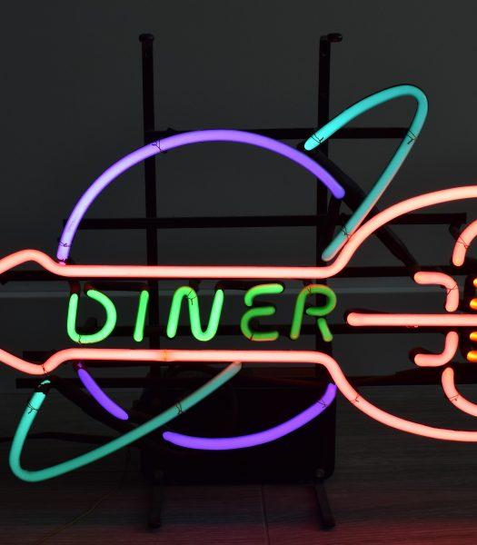 Vintage Diner neon sign