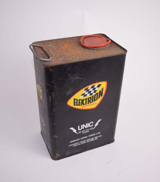 Vintage Elektrion motor oil