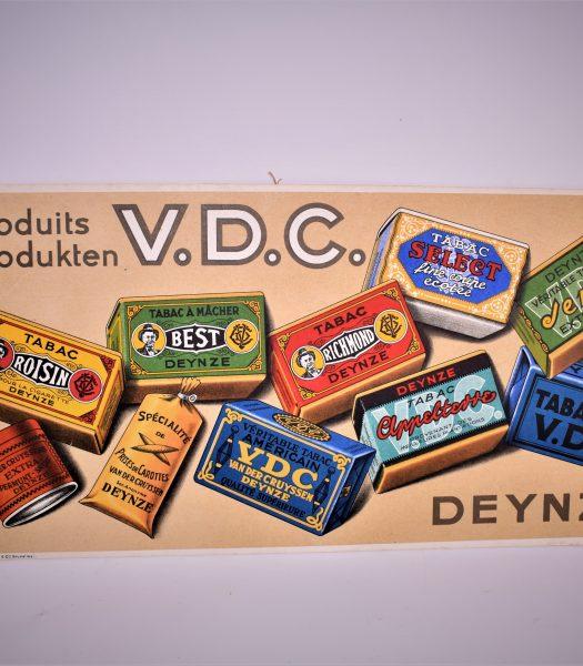 Vintage tobacco advertising