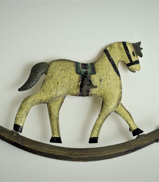 Vintage tin toy horse