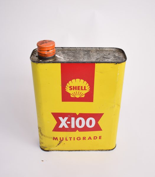 Shell X-100 multigrade