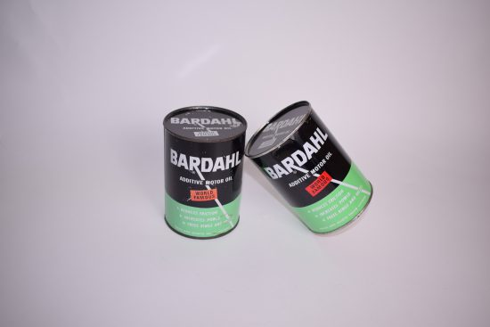 Vintage Bardahl oil can