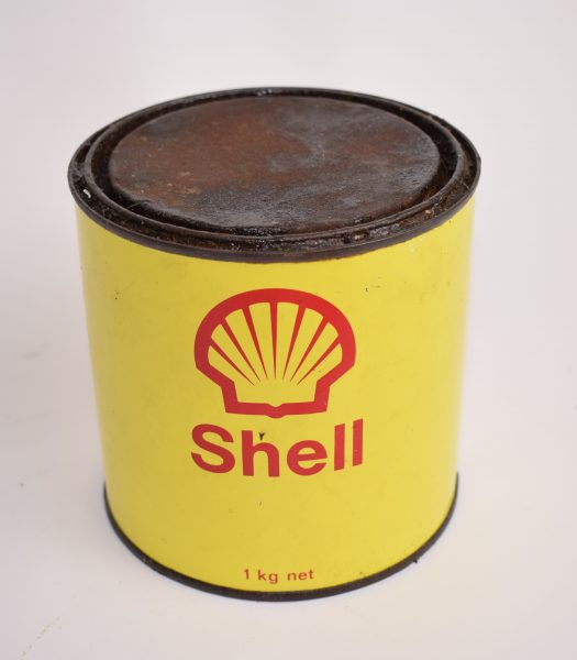 Vintage Shell grease