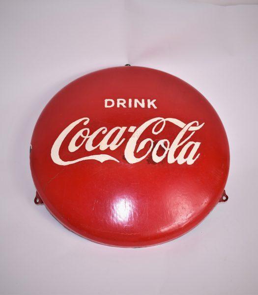 Enamel Coca Cola sign