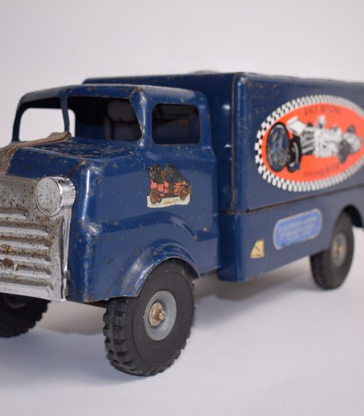 Vintage Tri-Ang tin toy truck
