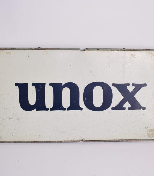 """Vintage """"UNOX""""sign"""