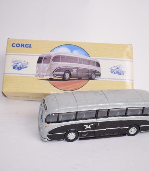 Vintage Corgi bus
