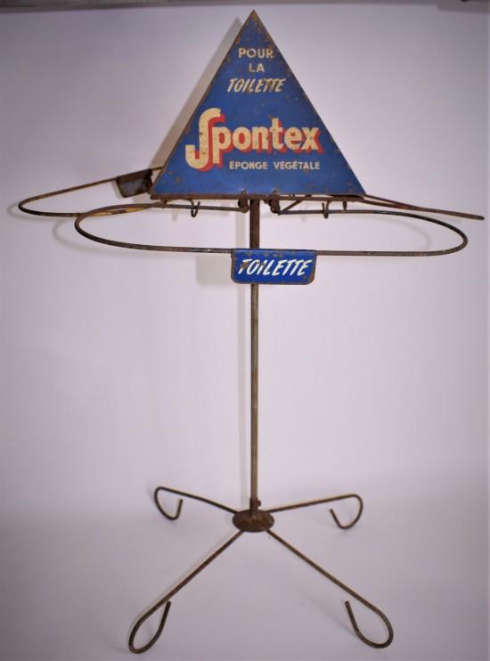 Vintage Spontex shop display