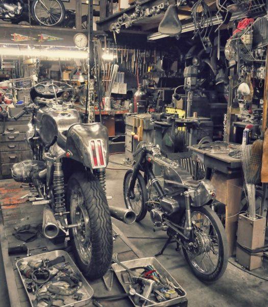 Garage decoration
