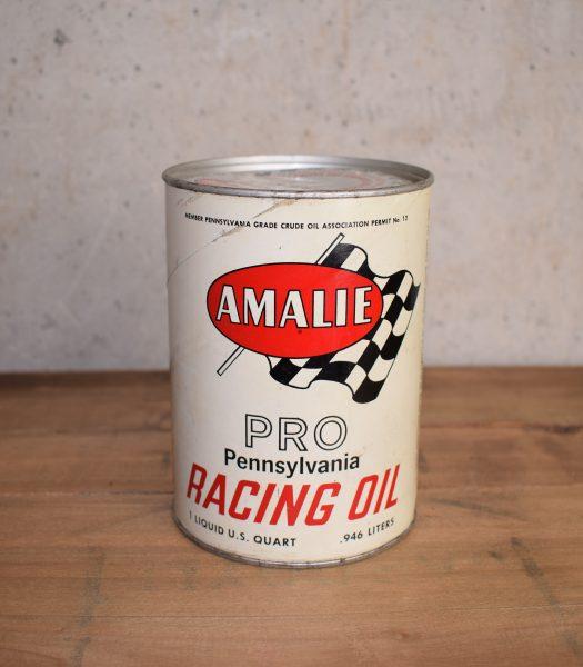 Vintage Amalie racing oil
