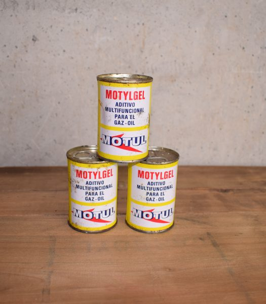 Vintage Motul oilcan