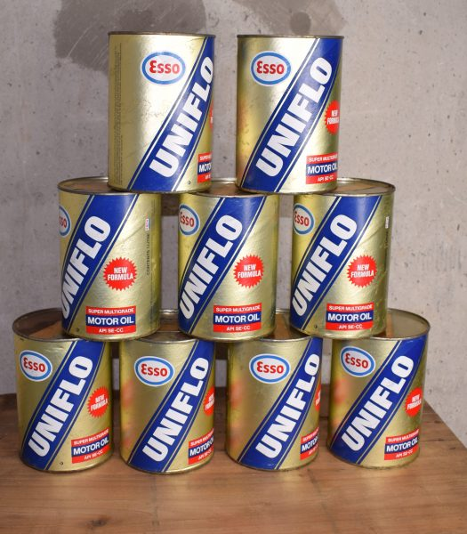 Vintage Esso Uniflo oilcan