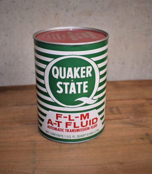 Vintage Quaker State can