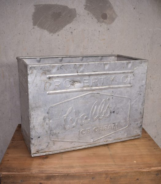 Vintage Wall's ice cream bucket