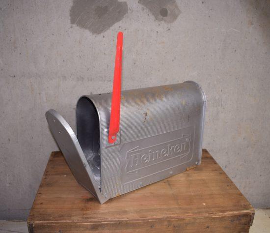 Vintage Heineken mailbox