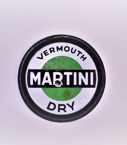 Vintage Martini Dry sign