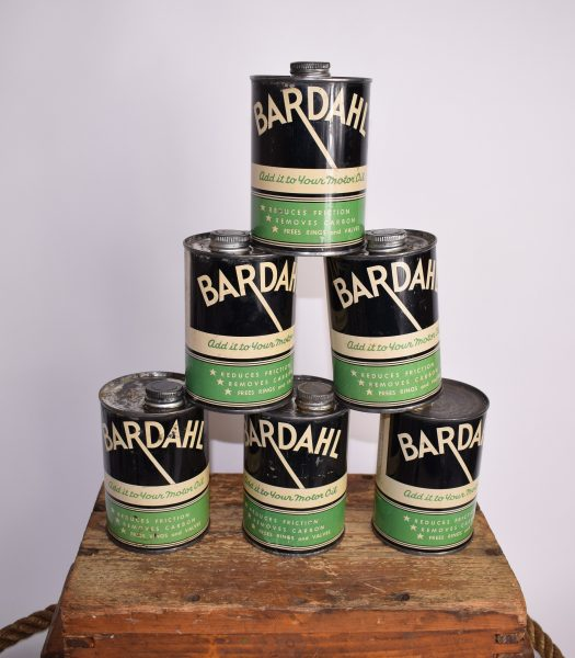 Vintage Bardahl oilcan