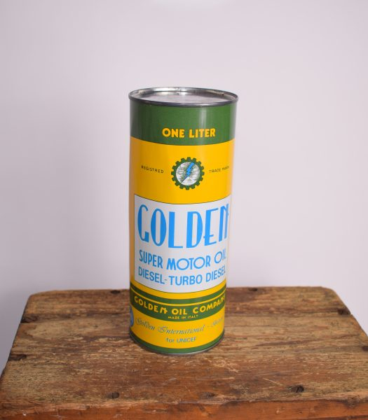 Vintage Golden motoroil