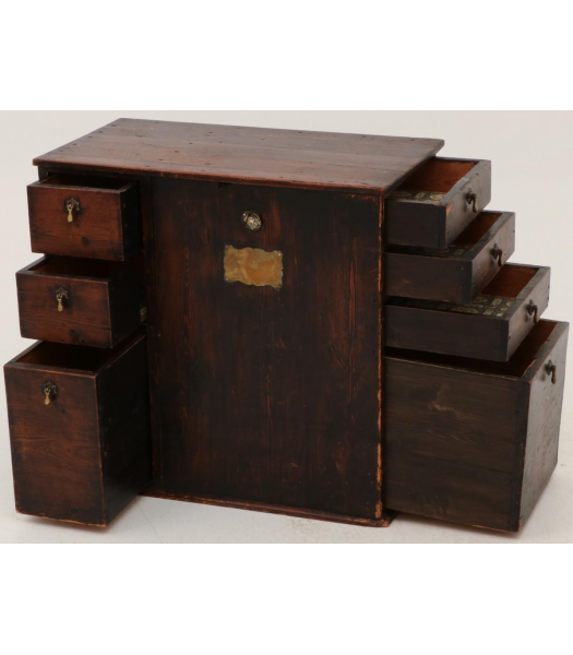 19th century document cabinet