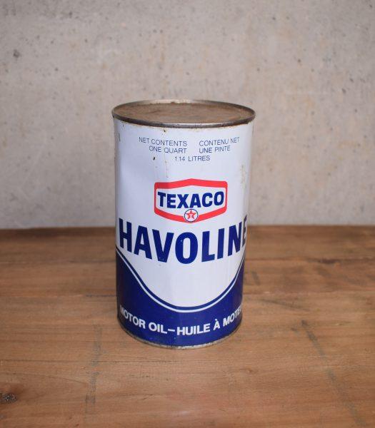 Vintage Texaco havoline oil can