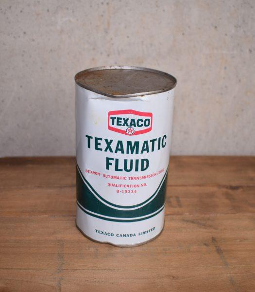 Vintage Texaco oilcan