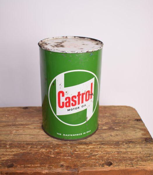 Vintage Castrol oilcan