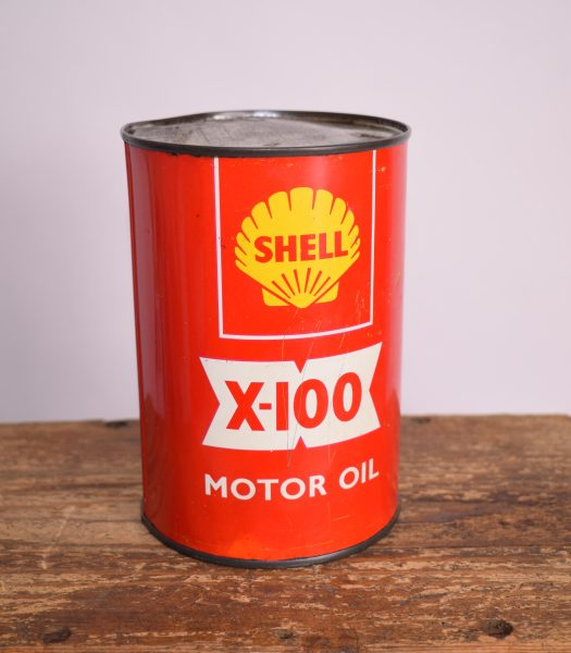 Vintage Shell-X100 oilcan