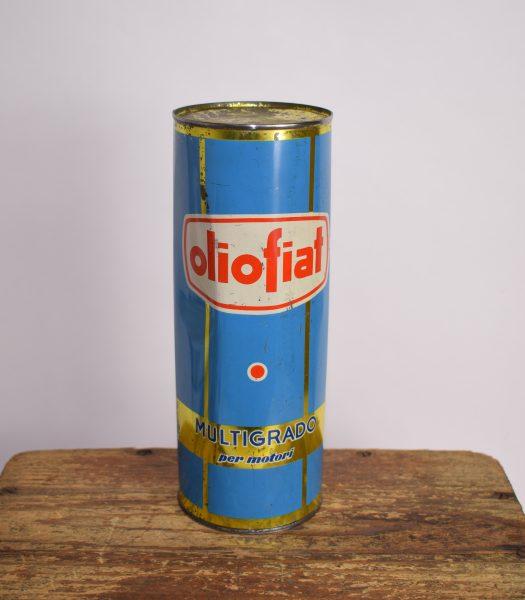 Vintage OlioFiat oilcan