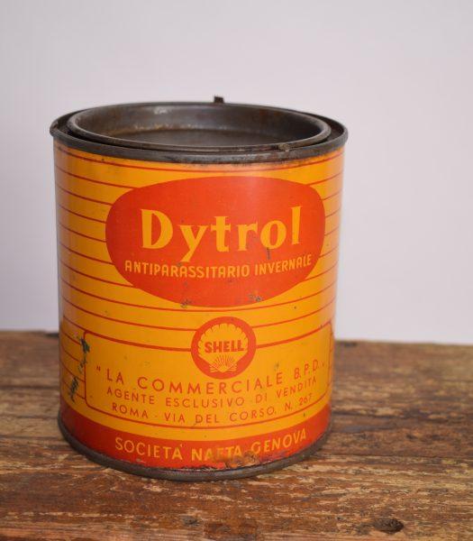 Vintage Shell Dytrol can