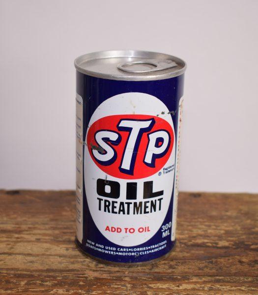 Vintage STP oil treatment can